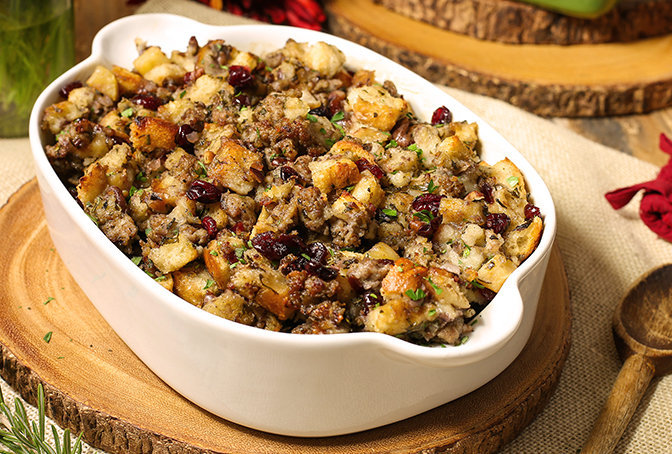 Sausage Stuffing Recipes from Jones Dairy Farm